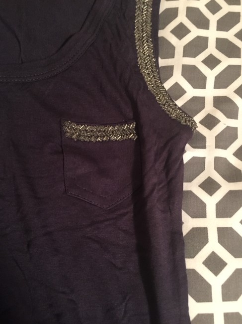 Forever 21 Beaded Top Gray