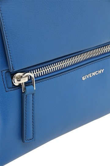 Givenchy Pandora Pandora Pure Crossbody Leather Satchel in Electric Blue
