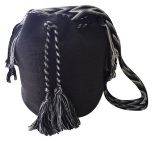 Wayuu Tribe Grey Messenger Bag