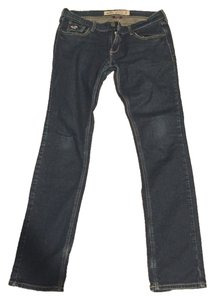 Hollister Denim Low-rise Dark Sexy Skinny Jeans-Dark Rinse