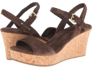 UGG Australia Shearling Leather Chocolate brown Sandals