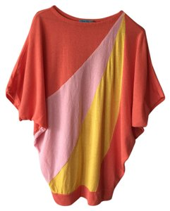 Alice + Olivia Retro Color-blocking Sweater