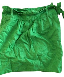 Banana Republic Mini Skirt Kelly Green