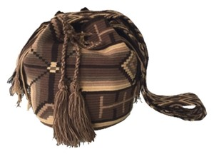 Wayuu Tribe Brown Messenger Bag