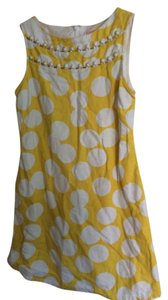 Lilly Pulitzer short dress Yellow & White on Tradesy