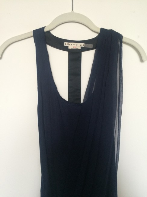 Alice + Olivia T-back Chiffon Dress