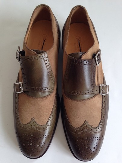 Saks Fifth Avenue Tan/Brown Formal