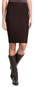 Eileen Fisher Brown Stretch Skirt Choco
