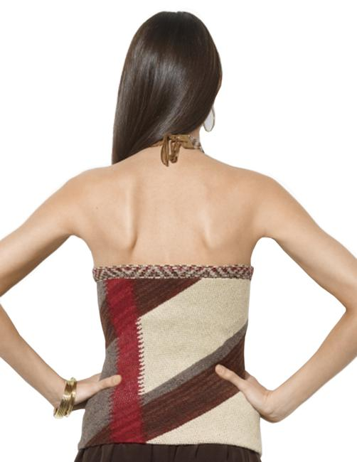 Ralph Lauren Linen Halter Top Brown