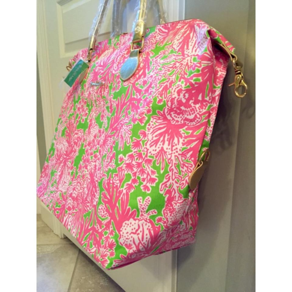 Lilly Pulitzer Pink Travel Bag 12345678910
