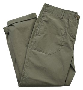 Theory Capris Army Green
