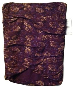 Free People Mini Skirt Purple,