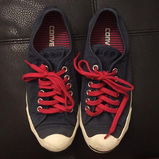 Converse Blue and red Athletic