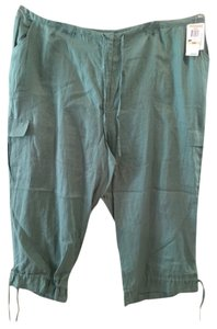 INC International Concepts Capri/Cropped Denim-Light Wash