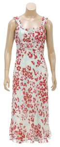 Red/Mutlicolor Maxi Dress by Nicole Miller