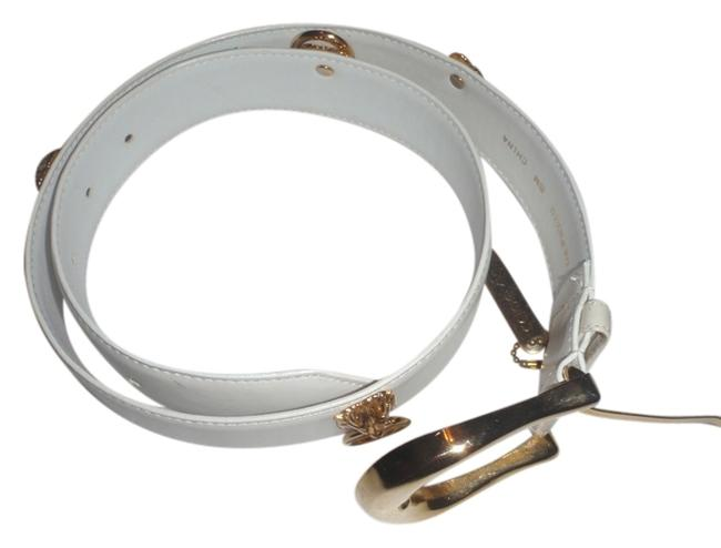 Item - White with Gold Pattern Belt