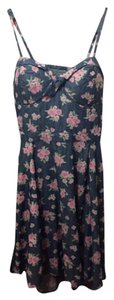 Jessica Simpson short dress Georgia Peach Prairie Floral on Tradesy