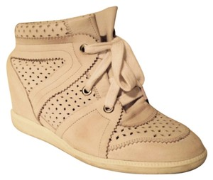 Isabel Marant White Wedges