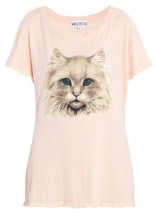 Wildfox T Shirt Peach