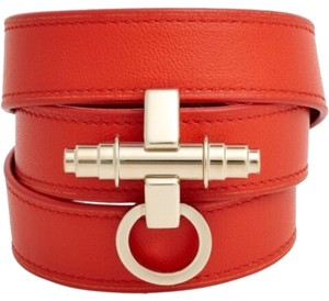 Givenchy Givency Obsedia Triple Leather Bracelet