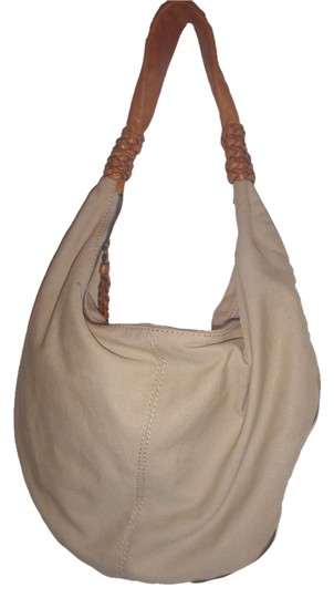 Preload https://item3.tradesy.com/images/jessica-simpson-purse-beigelight-brown-canvasleather-hobo-bag-5663362-0-0.jpg?width=440&height=440
