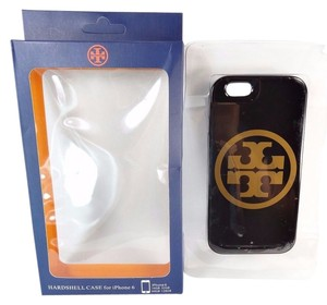 Tory Burch Tory Burch Hardshell Case for iPhone 6 Black Gold Logo NEW IN BOX