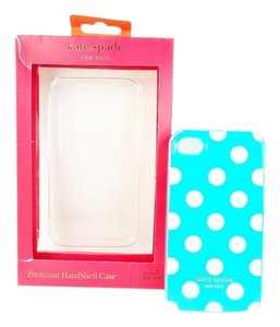 Kate Spade Kate Spade Premium Hardshell Case iPhone 4 / 4S Polka Dot Blue White NEW IN BOX