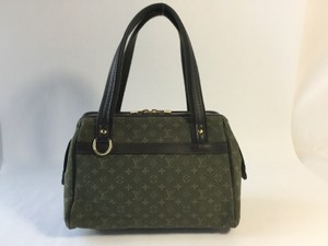 Louis Vuitton Josephine Pm Satchel in Green monogram