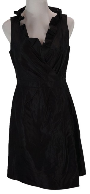 J.Crew Ruffled Silk Taffeta Dress