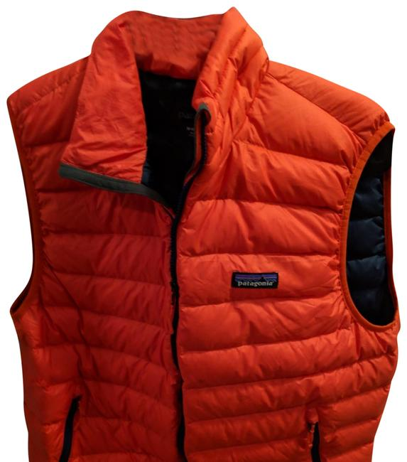 Item - Orange Vest Puffer Down