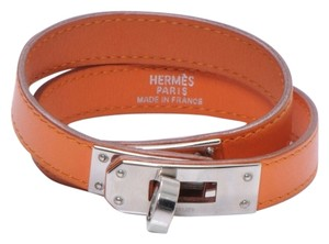 Herms Hermes Kelly Double Tour Bracelet