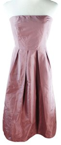 J.Crew Strapless Silk Taffeta Dress