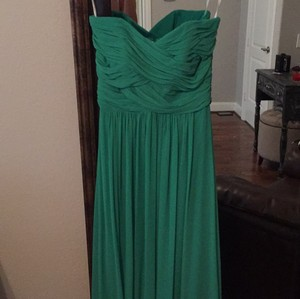 Dessy Pantone Emerald Dress
