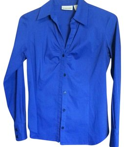 Apostrophe Button Down Shirt blue