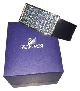 Swarovski Navy Bracelet with blue sparkles hardly worn excellent condition