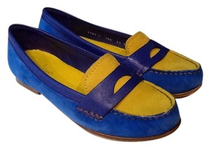 Cole Haan Suede Nike Air Blue Flats