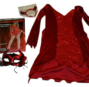 Halloween Spirit Costume Devil Dress
