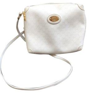 Gucci Vintage Italy Leather Logo Leather Logos Vintage Cross Body Bag