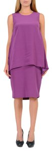 Maison Martin Margiela short dress Purple on Tradesy
