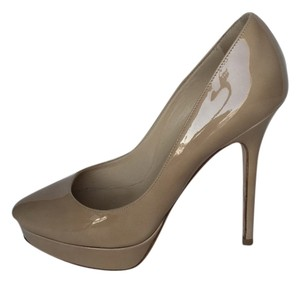 Jimmy Choo Designer Luxury Nude Pumps