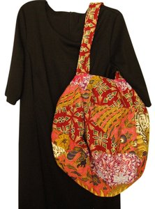 Other Boho Handmade Diaper Overnighter Batik Travel Bag