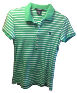 Polo Ralph Lauren T Shirt Stripe Green