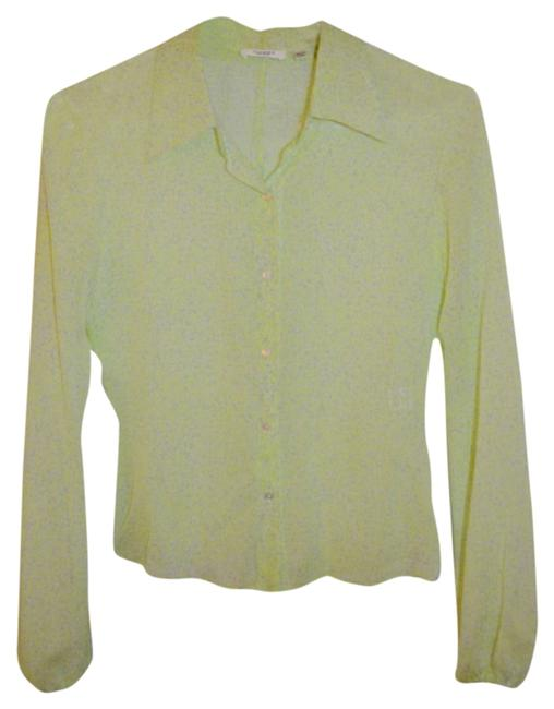 Tahari Top Green