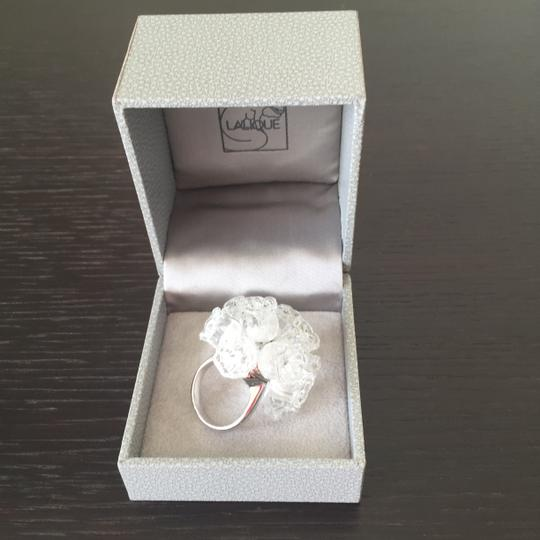 Lalique Lalique Mossi Ring 3 Rows Clear SS5
