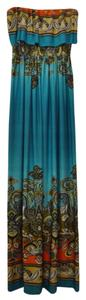 Multicolor Maxi Dress by bailey blue