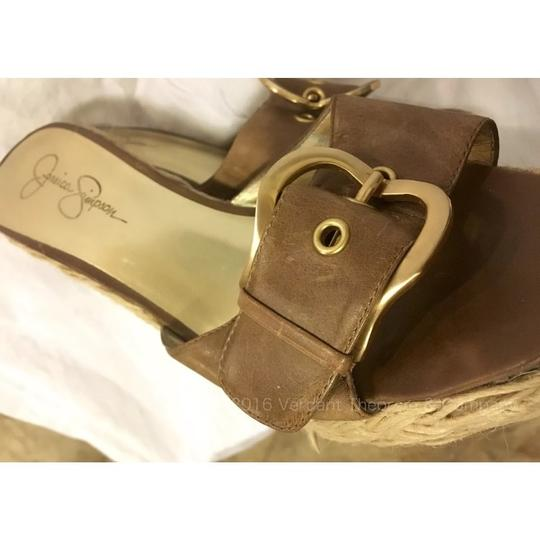 Jessica Simpson Brown, Tan, Taupe Wedges