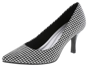 Payless Black and White Pumps