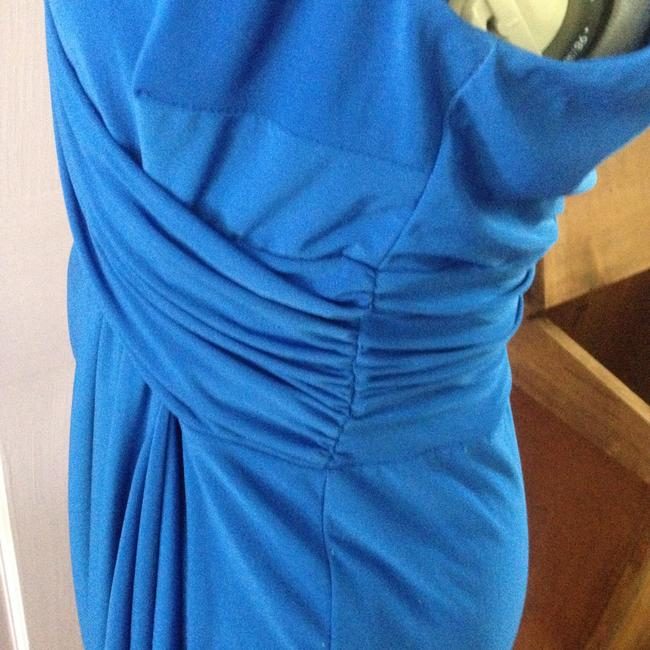 Chaps Gathered Detail Stretchy Dress