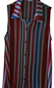 Sans Souci Button Down Shirt Striped