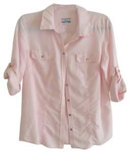 Croft & Barrow Button Down Shirt Pink